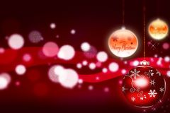 Billes de Noël - illustration illustration libre de droits