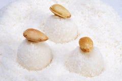 Billes de noix de coco photographie stock libre de droits