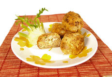 Billes de poulet images stock