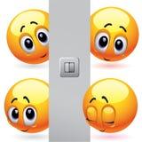 Billes de sourire Image libre de droits