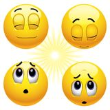 Billes de sourire Photo stock