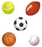 Billes de sport Photographie stock