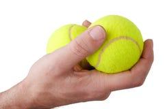 Billes de tennis photographie stock libre de droits