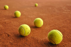 Billes de tennis Image stock