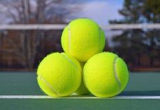 Billes de tennis images stock