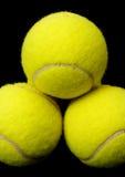 Billes de tennis photographie stock