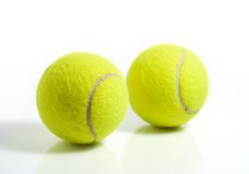 Billes de tennis Photo libre de droits