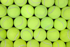 Billes de tennis Photos stock