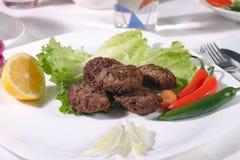 Billes de viande photographie stock libre de droits