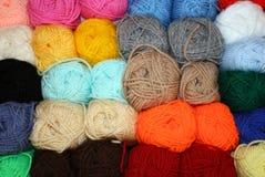 Billes des laines photographie stock