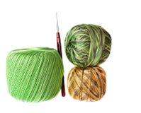 Billes des laines multicolores image libre de droits