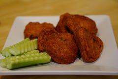 Billes frites de pâté au poisson Photo stock