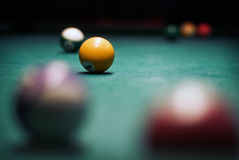 Billes pour des billards Photo stock