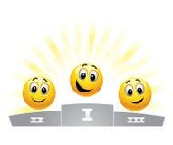 Billes souriantes Images stock