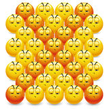 Billes souriantes Images libres de droits