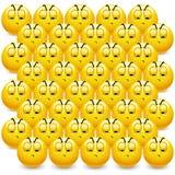 Billes souriantes Photographie stock libre de droits