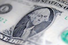 Billet d'un dollar Images libres de droits