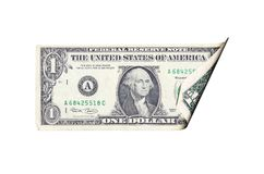Billet d'un dollar Photos stock