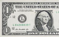 Billet d'un dollar Photographie stock