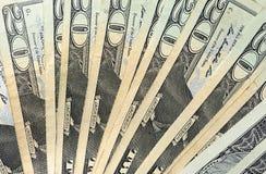 20 billet d'un dollar Images libres de droits