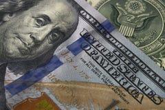 Billet d'un dollar Image libre de droits
