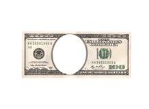 Billet d'un dollar artistique Photographie stock libre de droits
