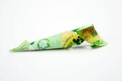20 billet d'un dollar canadiens Photos libres de droits