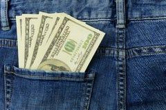 Billet de banque canadien américain 100 des dollars d'argent images libres de droits