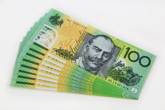 Billet de banque d'Australie Photos stock