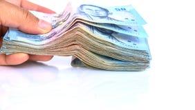 Billet de banque de cueillette Image stock