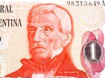 Billet de banque de currancy de l'Amérique du Sud Image libre de droits