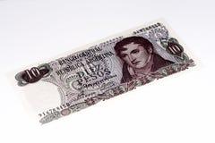 Billet de banque de currancy de l'Amérique du Sud Photos stock