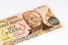 Billet de banque de currancy de l'Amérique du Sud Photos libres de droits