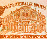 Billet de banque de currancy de l'Amérique du Sud Photographie stock