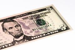 Billet de banque de currancy des Etats-Unis Images libres de droits