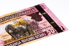 Billet de banque de devise de l'Afrique Images stock