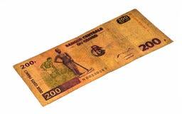 Billet de banque de devise de l'Afrique Images libres de droits