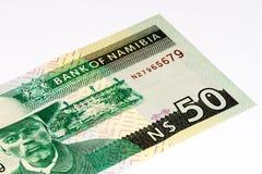 Billet de banque de devise de l'Afrique Image libre de droits