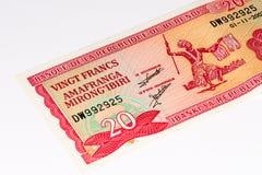 Billet de banque de devise de l'Afrique Photographie stock