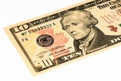Billet de banque de devise des Etats-Unis Images libres de droits