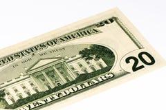 Billet de banque de devise des Etats-Unis Images stock