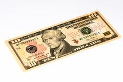 Billet de banque de devise des Etats-Unis Image stock