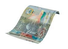1 billet de banque de dinar koweitien Image stock