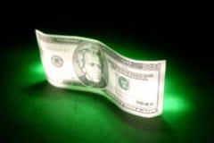 Billet de banque de dollar US Images libres de droits