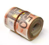 Billet de banque de l'euro 50 Photo stock