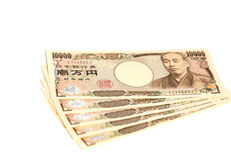 Billet de banque japonais 10000 Yens Image stock
