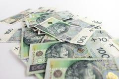 Billet de banque polonais photos stock