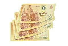 Billet de banque thaï photos libres de droits