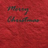 Billet de Joyeux Noël Images stock