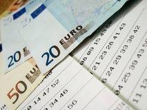 Billet de loterie - 3 Photographie stock